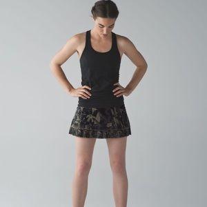 RARE Lululemon City Sky Run By Camo Skirt size 12